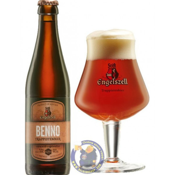 Buy-Achat-Purchase - Engelszell Benno Trappistenbier 6.9°-1/3L - Trappist beers -