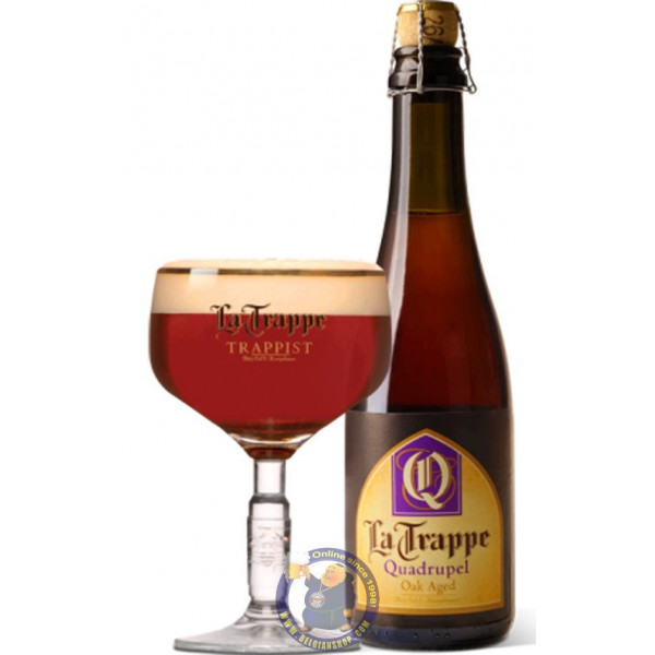 Buy-Achat-Purchase - La Trappe Quadrupel OAK AGED 10° - 37,5 cL - Trappist beers -
