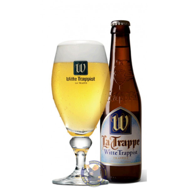 Buy-Achat-Purchase - La Trappe Witte Trappist 5,5° - 1/3L  - Trappist beers -