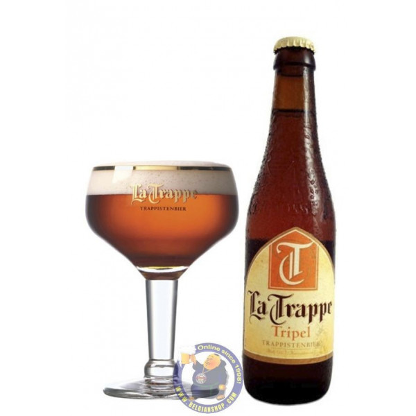 Buy-Achat-Purchase - La Trappe Tripel 8° - 1/3L  - Trappist beers -