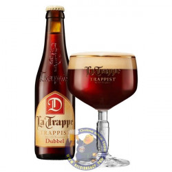 Buy-Achat-Purchase - La Trappe Dubbel 6,5° - 1/3L  - Trappist beers -