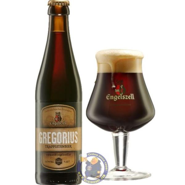 Engelszell Gregorius Trappistenbier 9.7°-1/3L - Trappist beers -