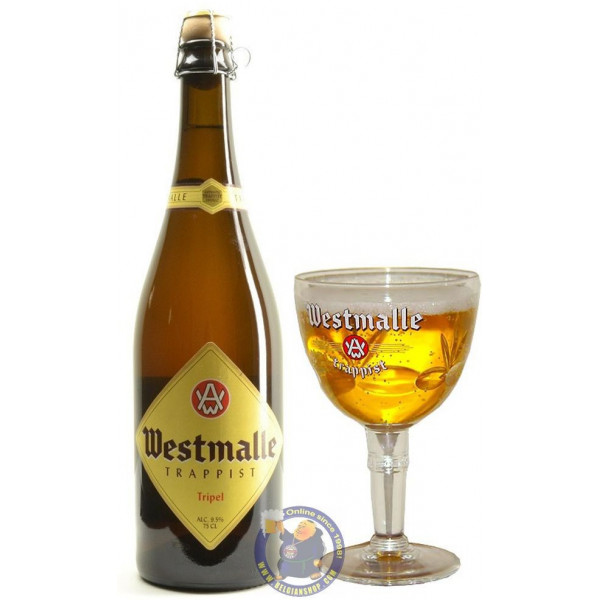 Buy-Achat-Purchase - Westmalle Triple 9.5°-3/4L - Trappist beers -