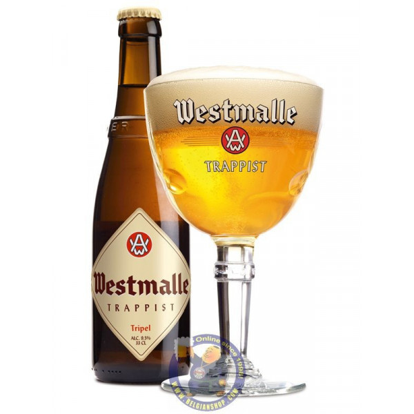 Buy-Achat-Purchase - Westmalle Triple 9°-1/3L - Trappist beers -