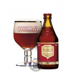 Chimay Red 7°-1/3L - Trappist beers -