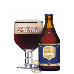 Chimay Bleue 9°-1/3L - Trappist beers -