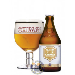 Buy-Achat-Purchase - Chimay White 8°-1/3L - Trappist beers -