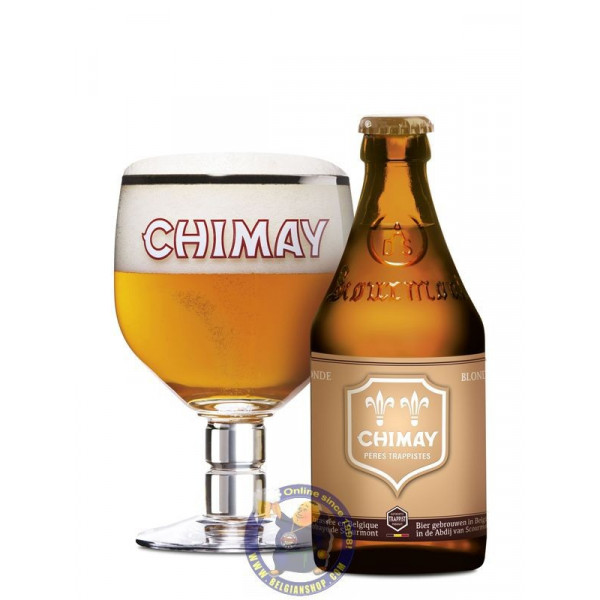 Buy-Achat-Purchase - Chimay Dorée 4,8° -1/3L - Trappist beers -