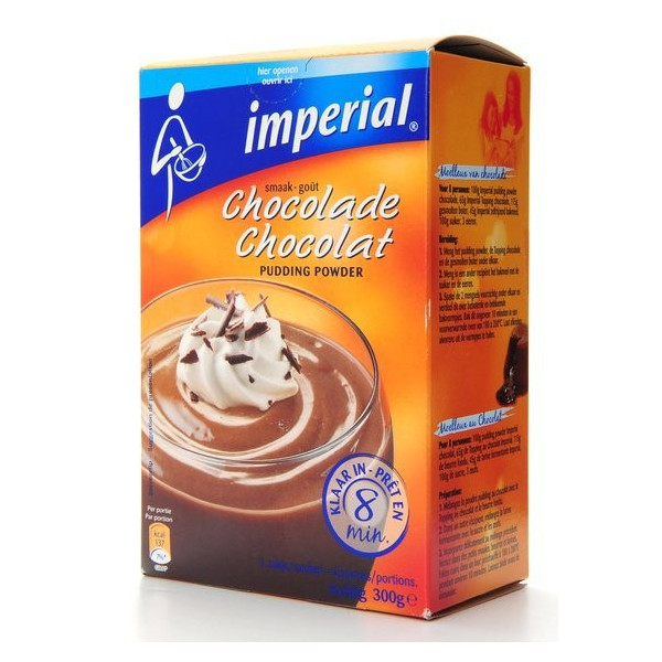Buy-Achat-Purchase - Imperial Powders Pudding Chocolate - 6X50g - Pastry - Imperial