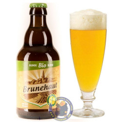 Buy-Achat-Purchase - Brunehaut Bio Blonde Gluten Free 6.5° -1/3L - Special beers -