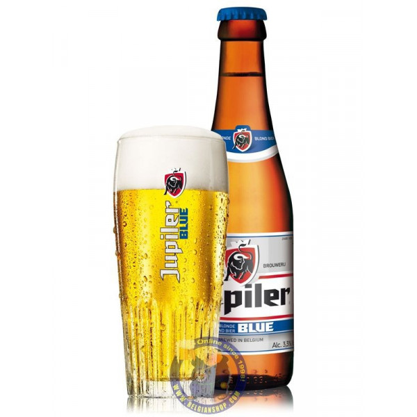 Buy-Achat-Purchase - Jupiler Bleue 3,3° - 1/4L - Pils - AB-Inbev