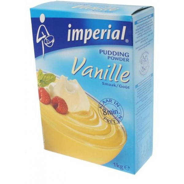 Imperial Powders Pudding Vanilla - 1kg - Pastry - Imperial
