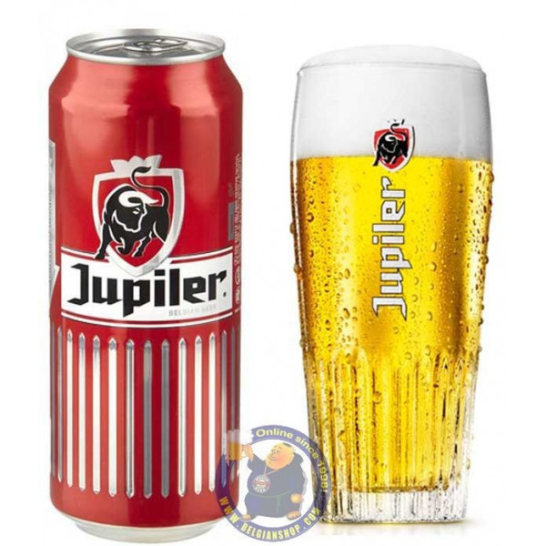 Jupiler 5.2° - 50Cl - Can - Pils -