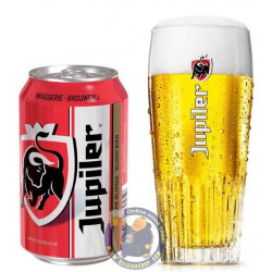 Jupiler 5.2° - 33Cl - Can - Pils - AB-Inbev