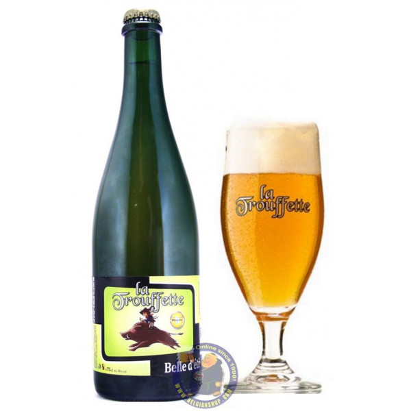 Buy-Achat-Purchase - La Trouffette Belle d'Été 6° -1/3L - White beers -