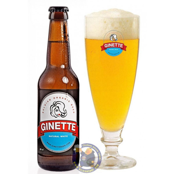Buy-Achat-Purchase - Ginette Natural White 5° - 1/3L - White beers -
