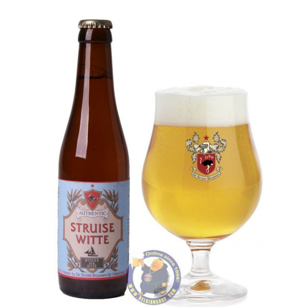 Buy-Achat-Purchase - Struise Witte 5° - 1/3L  - White beers -