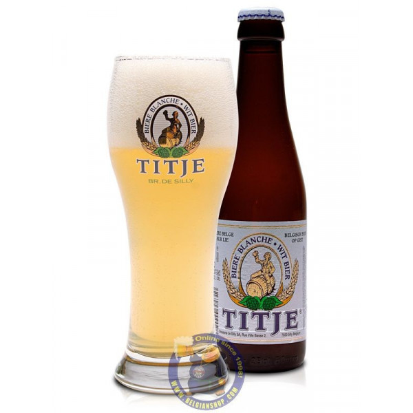 Buy-Achat-Purchase - Blanche Titje 5°-1/4L - White beers -