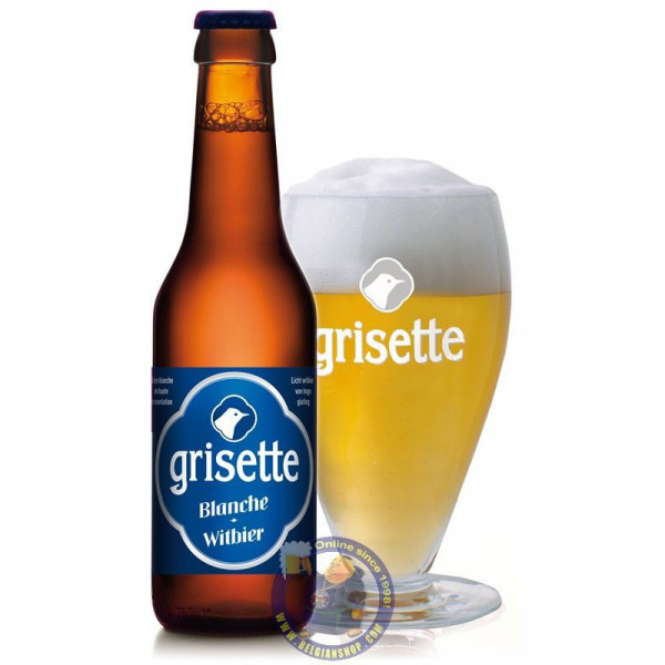 Buy-Achat-Purchase - Grisette Blanche 5° - 1/4L - White beers -