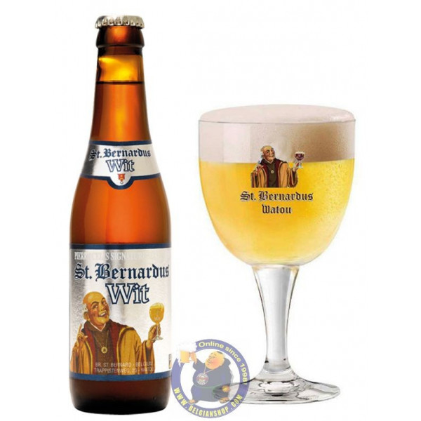 Buy-Achat-Purchase - St Bernardus White 5.5° - 1/3L - White beers -