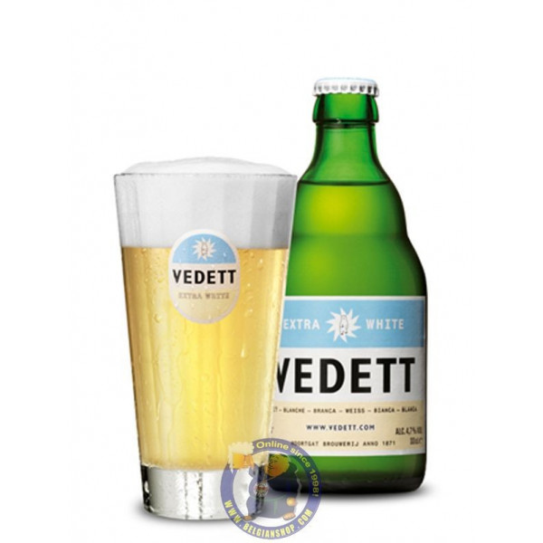 Buy-Achat-Purchase - Vedett White 5° - 1/3L  - White beers -