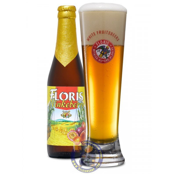 Floris NinkeBerry 3°C - 1/3L - White beers -