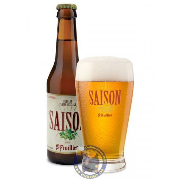 Buy-Achat-Purchase - St Feuillien Saison 6,5° - 1/4L - Season beers -