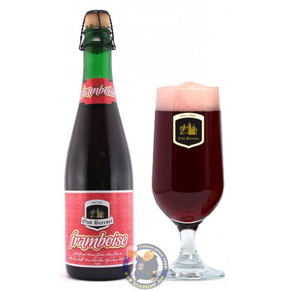 Oud Beersel Framboise 5° - 37,5 cl - Geuze Lambic Fruits -