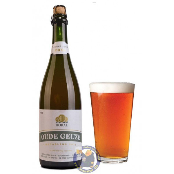 Buy-Achat-Purchase - Horal Oude Geuze Megablend 2015 7° - 3/4L - Geuze Lambic Fruits -
