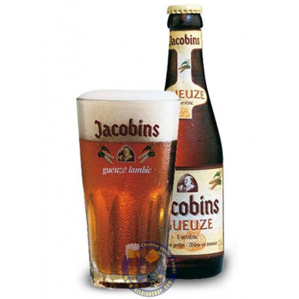 Buy-Achat-Purchase - Jacobins Gueuze 5.5° - 1/4L - Geuze Lambic Fruits -