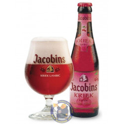 Jacobins Kriek 4,5° - 1/4L - Geuze Lambic Fruits -