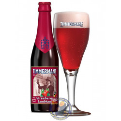 Timmermans Strawberry Lambicus 4° - 1/3L - Geuze Lambic Fruits -