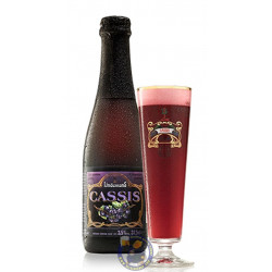 Lindemans Cassis 4° - 37,5CL - Geuze Lambic Fruits -