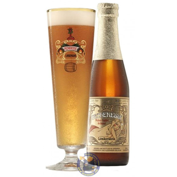 Pêcheresse Lindemans 2.5°-1/4L - Geuze Lambic Fruits -