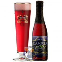 Cassis Lindemans 4° - 1/4L - Geuze Lambic Fruits -
