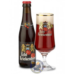 Buy-Achat-Purchase - Echt Kriekenbier 6.8°-1/4L - Geuze Lambic Fruits -