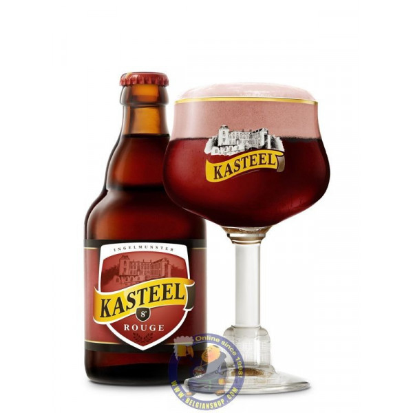 Buy-Achat-Purchase - Kasteel Rouge 8° - 1/3L - Geuze Lambic Fruits -