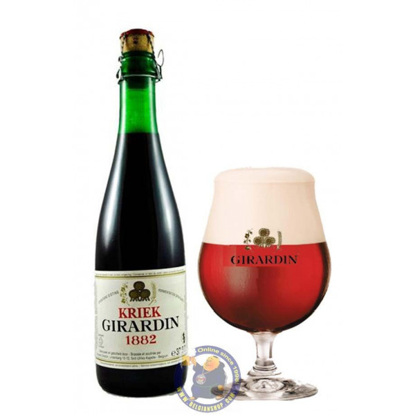 Girardin Kriek 5° - 37,5cl - Geuze Lambic Fruits -