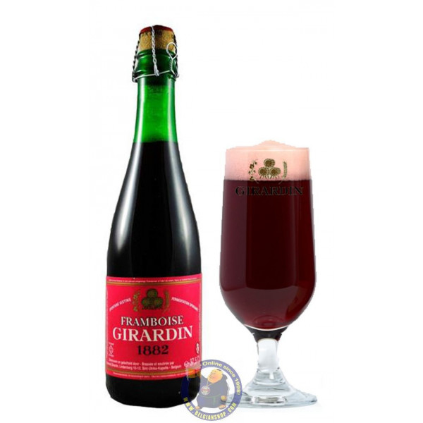 Buy-Achat-Purchase - Girardin Framboise 5°- 37,5cL - Geuze Lambic Fruits -