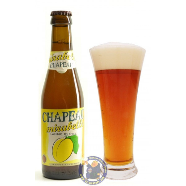 Buy-Achat-Purchase - Chapeau Mirabel De Troch 3°-1/4L - Geuze Lambic Fruits -
