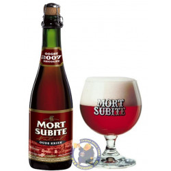 Kriek Mort Subite 4.3°-37 cl - Geuze Lambic Fruits -