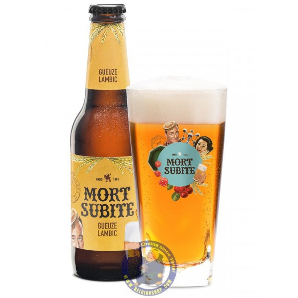 Buy-Achat-Purchase - Gueuze Mort Subite 4.3°-1/4L - Geuze Lambic Fruits -