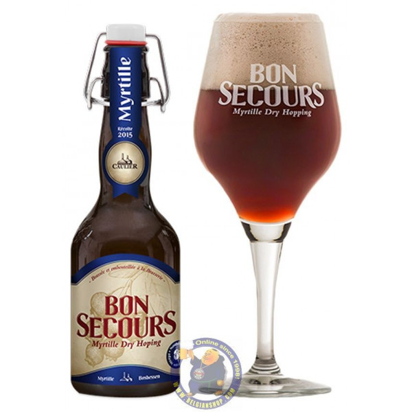 Buy-Achat-Purchase - Bon Secours Myrtille 7° -1/3L - Geuze Lambic Fruits -