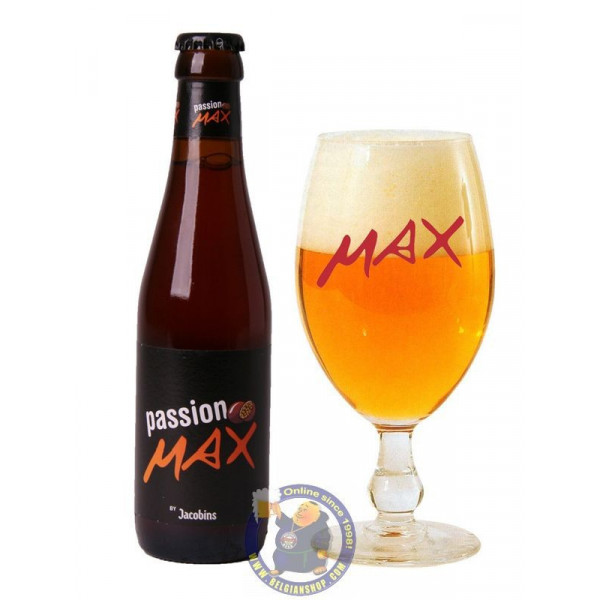 Buy-Achat-Purchase - Jacobins Max Passion 3°-1/4L - Geuze Lambic Fruits -