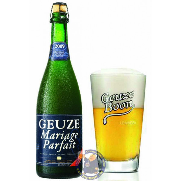 Buy-Achat-Purchase - Boon Oude Gueuze Mariage Parfait 8° - 37,5cl - Geuze Lambic Fruits -