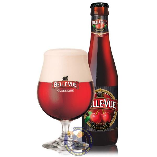 Belle-Vue Kriek 5.2°-1/4L - Geuze Lambic Fruits -