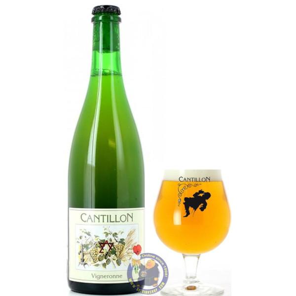 Cantillon Vigneronne 5° - 3/4L - Geuze Lambic Fruits -