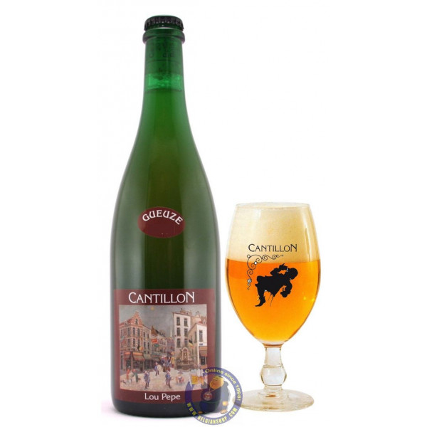 Buy-Achat-Purchase - Cantillon Lou Pepe GUEUZE 5° - 3/4L - Geuze Lambic Fruits -