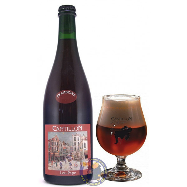 Buy-Achat-Purchase - Cantillon Lou Pepe Framboise 5° -3/4L - Geuze Lambic Fruits -