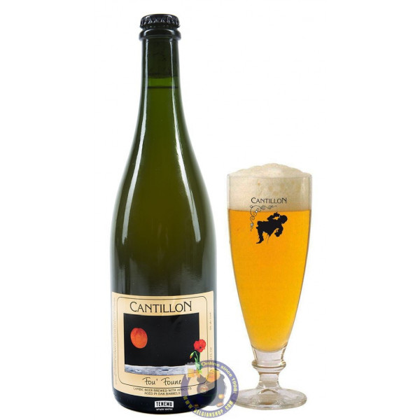 Buy-Achat-Purchase - Cantillon FouFoune 5° -3/4L -V - Geuze Lambic Fruits -